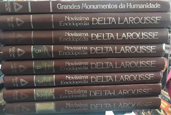 Coleção Novíssima Enciclopédia Delta Larousse - 8 Volumes