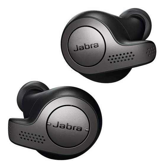 Fone de ouvido sem fio Jabra 65t black titanium