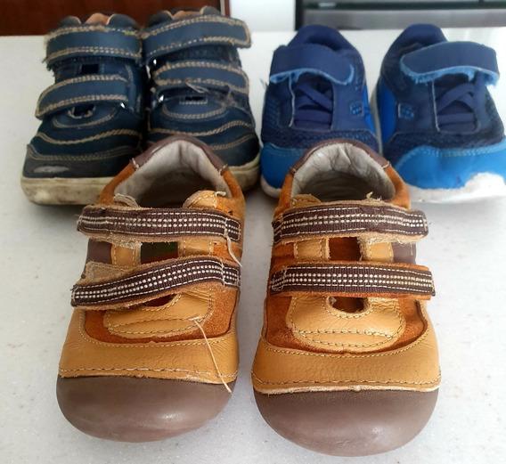Lote De Calzado Para Bebés De 2 A 3 Años | Tenis| Zapatos