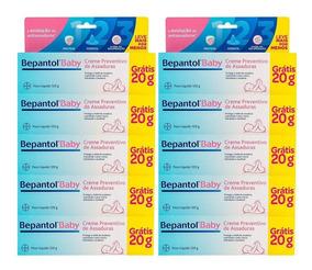 Kit C/10 Bepantol Baby Creme Para Prev De Assaduras 100g+20g
