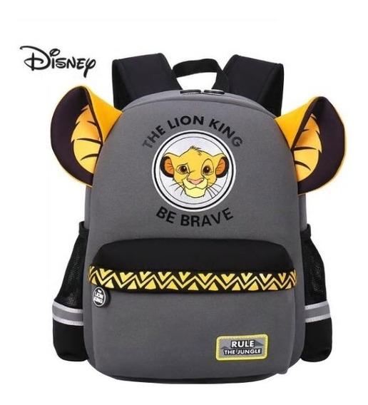 Mochila 3d Rei Leão Simba Filme Disney Infantil Criança