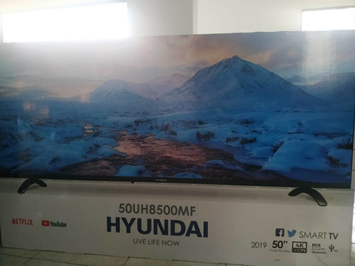 Tv Smart 50 Pulgadas Hyundai 4k Uhd Wifi Nuevo 350verds