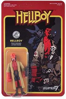 Hellboy Reaction Súper 7 Rosario