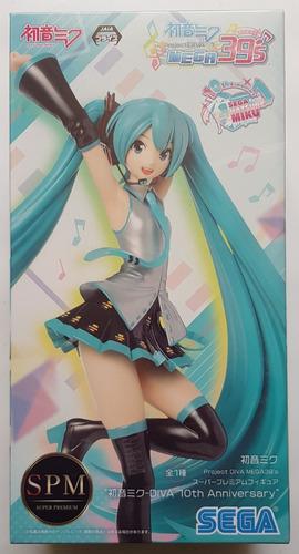 Figura Arcade Future Hatsune Miku Diva 10th Anniversary