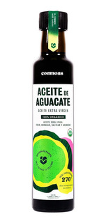 Commons Aceite De Aguacate Extra Virgen Orgánico Botella 250