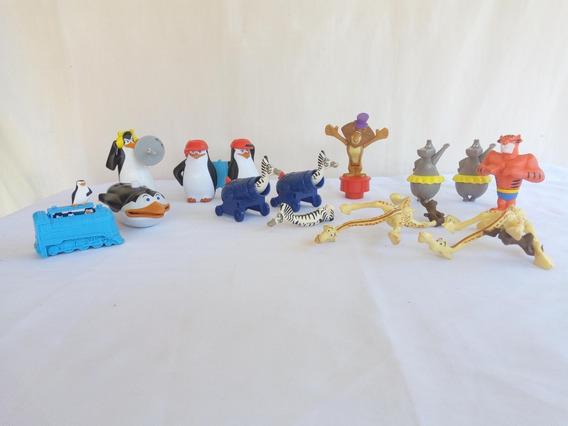 Mc Donalds Madagascar Os Fugitivos E Pinguins ( O Lote )