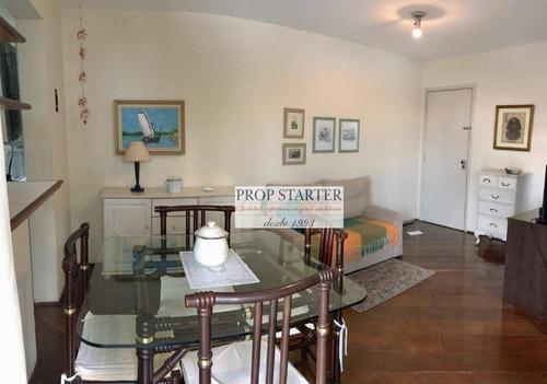 Imagem 1 de 25 de Apartamento Com 2 Doritórios, 56 M² - Venda Por R$ 750.000 Ou Aluguel Por R$ 2.800/mês - Jardim Paulista - Prop Starter Adm. Imóveis - Ap0709