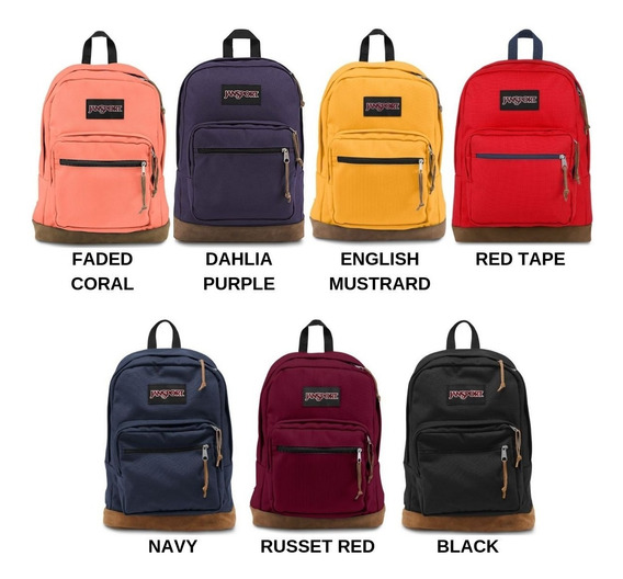 Mochila Jansport Right Pack 100% Original Lap Top