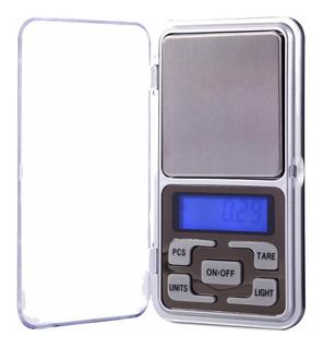 Mini Balanza Portable Pocket Scale Digital 0.1 A 500gramos
