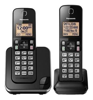 Telefonos Inalambricos Panasonic 2 Auriculares Kx-tgc352b