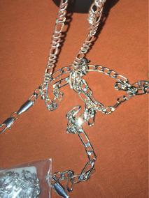 Corrente De Prata Unissex 5mm/50cm