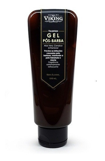 Gel Pós-barba S/álcool Tradition Viking Authentic Man 100ml