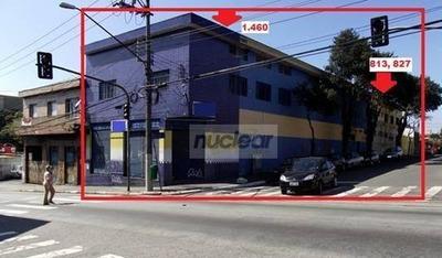 Prédio Comercial Para Venda E Locação, Vila Antonieta, São Paulo. - Pr0054
