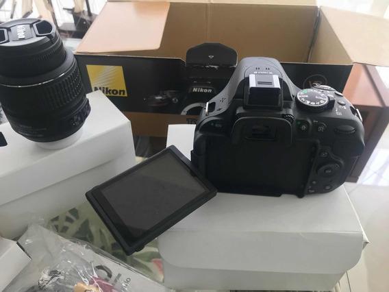 Nikon D 5200 Super Nova - Usei 1 Vez Estudo Troca