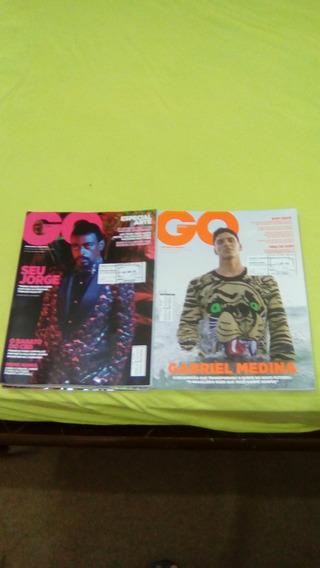 Revista Gq O Homem Com Estilo Vive Melhor 02 Unidades