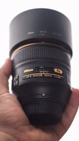 Lente Nikon 85mm 1.4 G