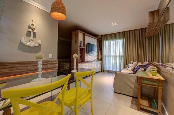 Apartamento Para Alugar, 39 M² Por R$ 3.500,00/mês - Cumbuco - Caucaia/ce - Ap1652