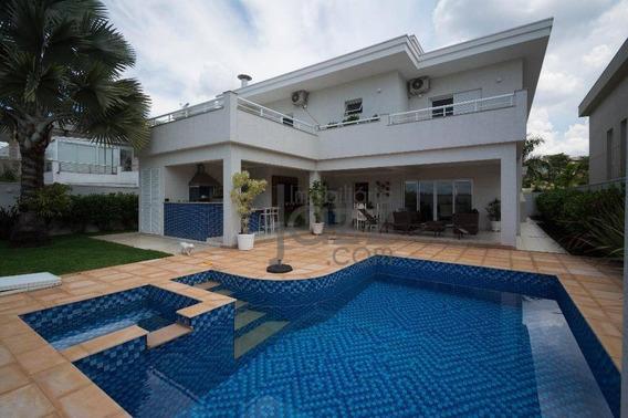 Casa Residencial À Venda, Alphaville Dom Pedro, Campinas. - Ca3009
