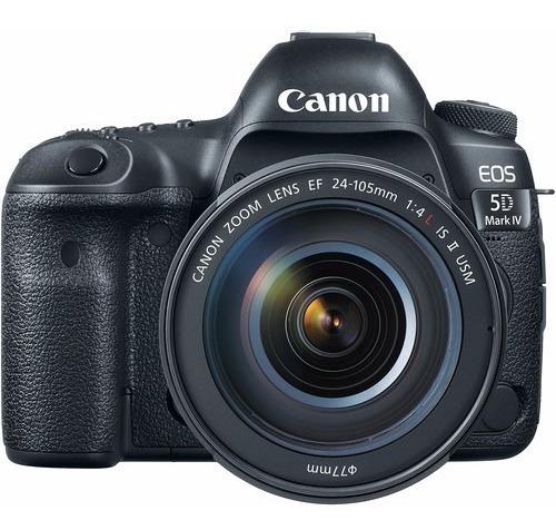 Canon 5d Mark Iv + 24-105mm F/4l Is Ii Usm Garantia 2 Anos