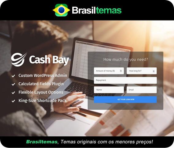 Cash Bay - Tema Wordpress Empréstimo E Crédito - Original