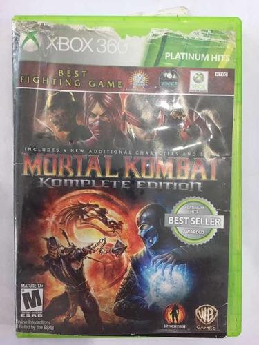 Mortal Kombat Komplete Edition Xbox360