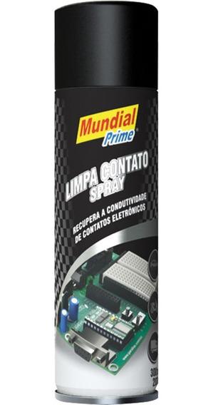 Kit 3x Spray Limpa Contato 300ml Eletrônicos Contatos Placas
