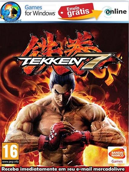 Tekken 7 Para Pc Jogo Offline