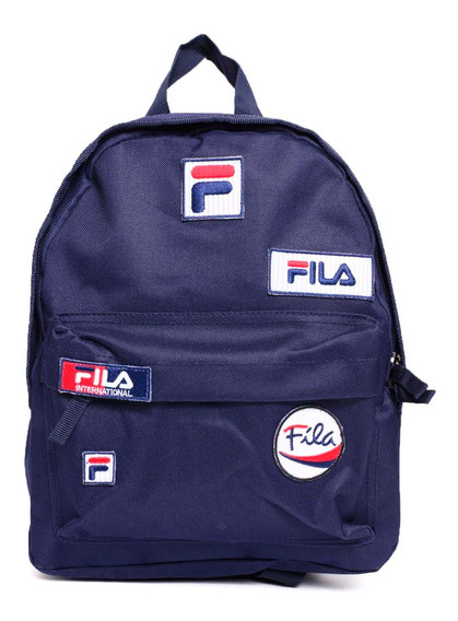 Mochila Fila Mini Patches -ls640117-140- Trip Store