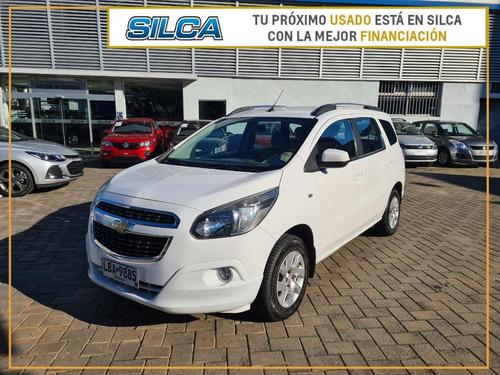 Chevrolet Spin Ltz 7 2013 Blanco 5 Puertas