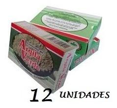 12 Unidades Sabonete De Argila Verde 90gr
