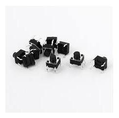 Chave Tactil 6x6x7 4 Term 100pç