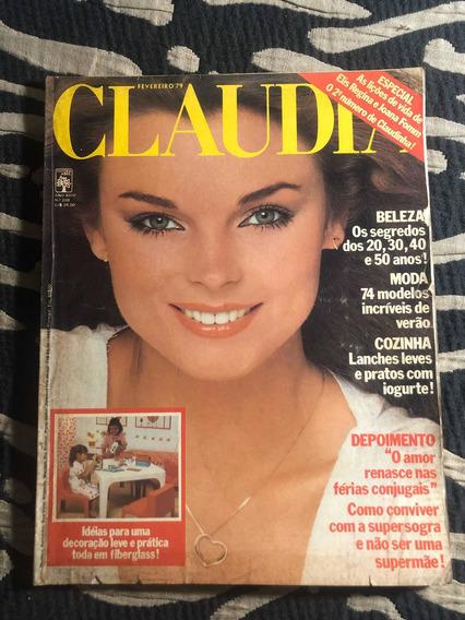 Claudia 79 Elis Joana Fomm Gal Clodovil Moda Cadernos Receit