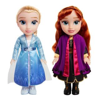 Disney Frozen 2 Princesas Anna Y Elsa Interactivas