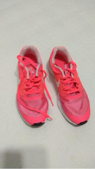 Zapatillas Nike Mujer, Color Fucsia, 37.5. Como Nuevas.
