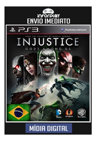 Injustice God Among Us Ultimate Dublado Br Ps3 Psn Envio Já