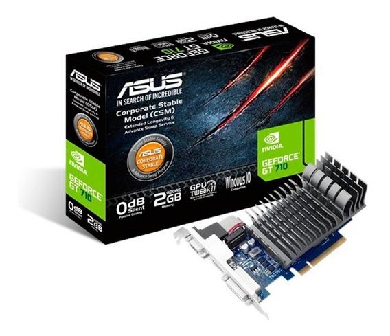 Placa Video Asus Geforce Gt710 2gb Ddr5 Hdmi Vga 710 Acuario