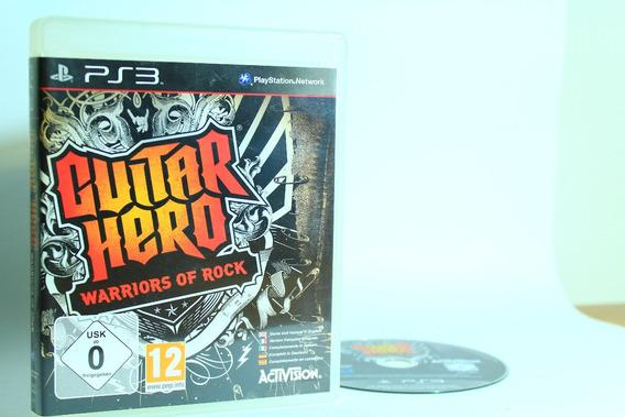 Guitar Hero Warriors Of Rock Para Playstation 3
