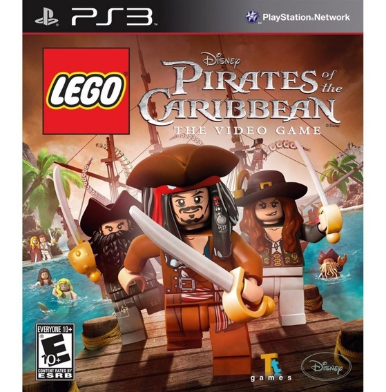 Lego Piratas Do Caribe - Playstation 3 - Instale Já