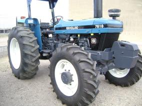 Maquinaria Agrícola Tractor New Holland 7610