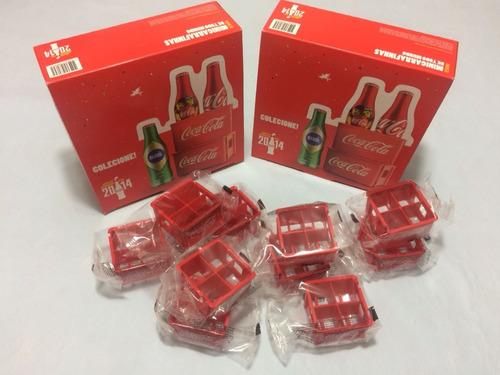 Mini Engradados Da Coca Cola Para Mini Garrafinhas Da Copa