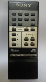 Controle Remoto Original Sony Discman Cd Player - Rm-dm 1b
