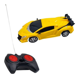 Carrinho Controle Remoto Bugatti Ferrari Lamborghini Race