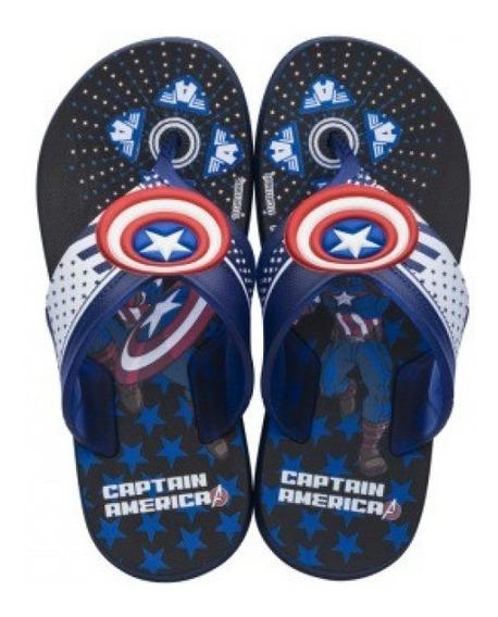 Chinelo Avengers Grendene Kids 22273 - Azul