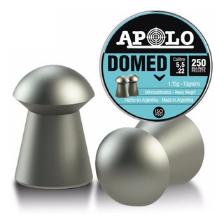 Balines Apolo Domed X250 5.5 Mm - Hay Gamo Crosman H&n Jsb