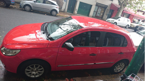 Volkswagen Gol Trendline Motor 1,6 Rojo 5 Puertas