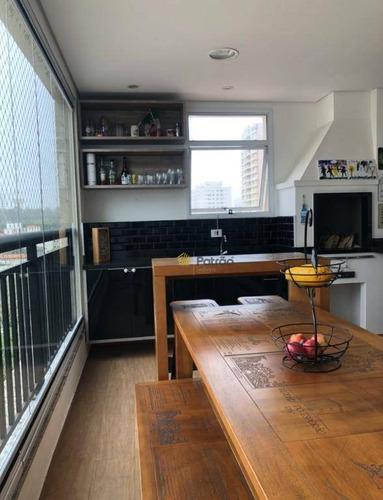 Apartamento À Venda, 100 M² Por R$ 845.000,00 - Nova Petrópolis - São Bernardo Do Campo/sp - Ap3177