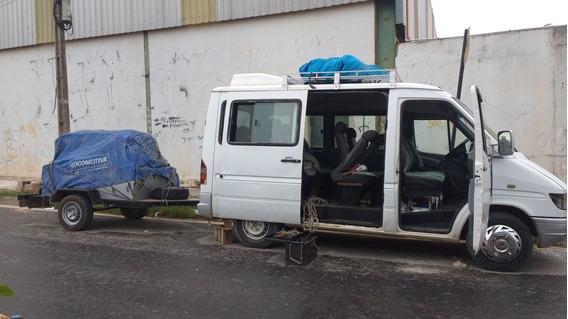 Sprinter Branco Ano 2001,vendo Ou Troco,motor Novo E Revisad