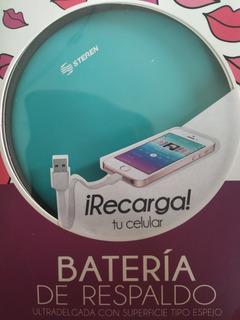 Batería Respaldo Cargador Nuevo
