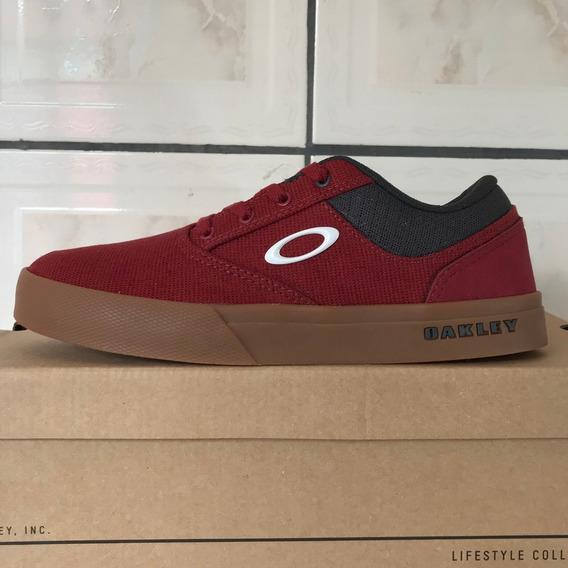 Tênis Oakley Chalten New Crimson Original Novo E Na Caixa