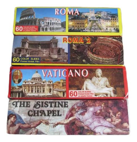 Film Slide Kodak Diapositiva Roma Vaticano Capilla Sixtina